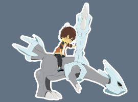 Riding Kyurem =) by JJao