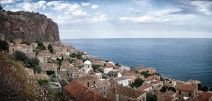 Monemvasia by rhipster