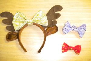 Scrappy Bow Collection (1) by HadesKitten
