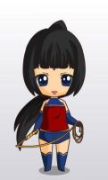 wonderwoman justice league war chibi style by MAHGOL-DC-LOVER