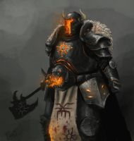Chaos warrior by FonteArt