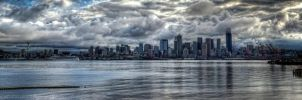 Rainy Seattle HDR by UrbanRural-Photo