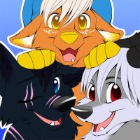Icon Commission for WhiteEclipse18 by Nyaasu