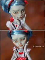 Am I Preety OOAK Doll Repaint by kamarza