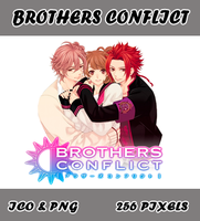Brothers Conflict v02 Icon Myk by Myk-2103
