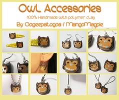 Owl Accessories - For Sale by Oogeepatogoa