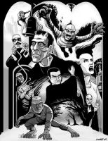 Universal Monsters 2013 Tones by DadaHyena