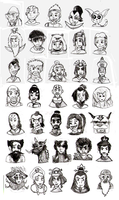 avatar characters by SEBASTIEN11