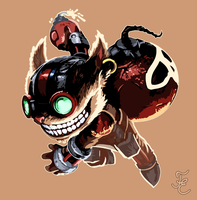 Ziggs Coloured by Eleela