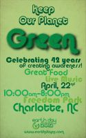 Keep Our Planet Green! (poster) by BradleyBlazed