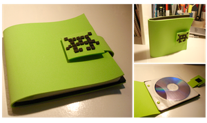 Retro CD case by lain56