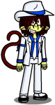 Ronic the Crazy Monkey (full body pic) by conkeronine