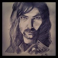 Kili the Dwarf by Charmanderlain