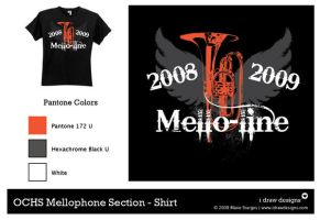 OCHS Mellophone Section Shirt by mirako-hikaru