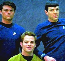 Star Trek New Big 3 by NeonGlo