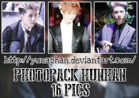 PHOTOPACK HunHan (EXO) #175 by YunaPhan
