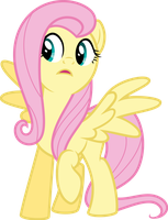 Surprised Fluttershy by DecPrincess