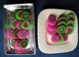 Fun Fruit Threes by skookyspry