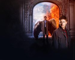 destiel wp by chouette-e