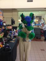 Liam the Dragon (Partial Fursuit) by omfgitsbutter