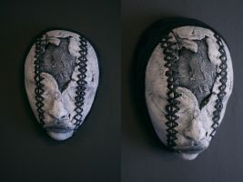 Mask - 'Double Stitched' by torvenius