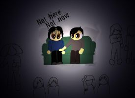 Not here, not now by doodlerwoo