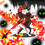 Dance of Fall by UnknownPaws