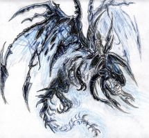 The Lich King's Proto Drake by Saiyakupo