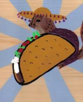 TACO SQUIRREL by reluctantdisaster