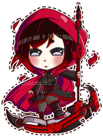 RWBY: Red by cardboard-box-c