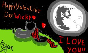 Valentine night (with ,,how its make,, link!) by BlackStar1127