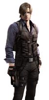 RE6 Leon Asia Official HQ Render by RenegadeOperative