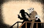 Shadow Puppets with Count Orlok by Snipetracker