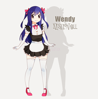 Wendy maid (FT) by Gimesama