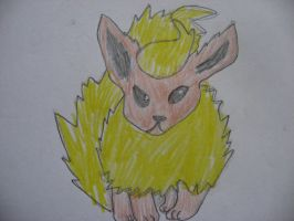 Flareon by Twilightberry