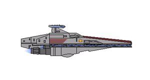 Star Wars RHI Acclamator II-Class Assault Ship by Seeras