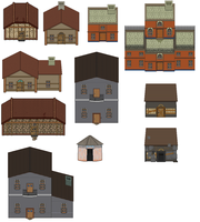 house set by chasz-manequin