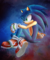 collab - sonic by XdarkxkittyX
