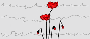 Poppies by Ithinkurqreat