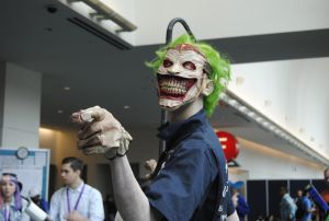 New 52 Joker Cosplay by MidgeO