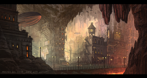 Cave city by Telmand
