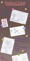 + Doodles at School + by GodsSonicGirl