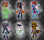$5 Alien Adopts [2/6 Open] by prpldragonart