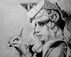 Lady GaGa, telephone by Jayzinha