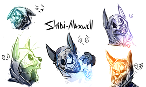 Shini Sketchdump by xDorchester