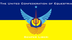 The Flag of the United Confederation of Equestria by PilotSolaris