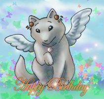Happy Birthday Sheba by Panther-Anch