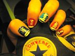 Converse nails by Just-A-DreamerXo