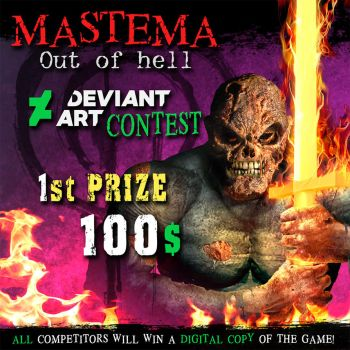 Mastema Out of Hell CONTEST by OscarCelestini