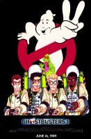 Ghostbusters II Poster by Iainmeister-rko